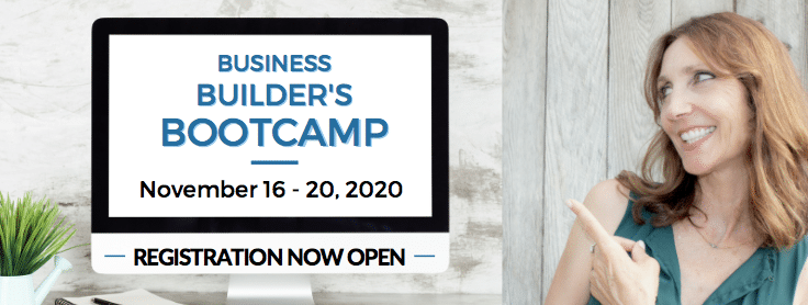 the business builder's bootcamp opens Nov. 16th